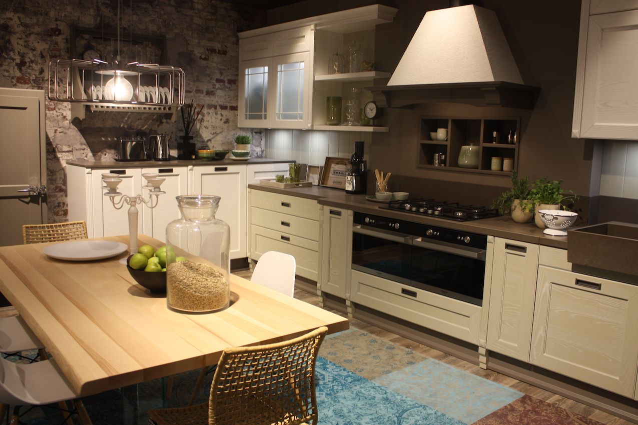 Arrex cucine recessed kitchen cabinets handles