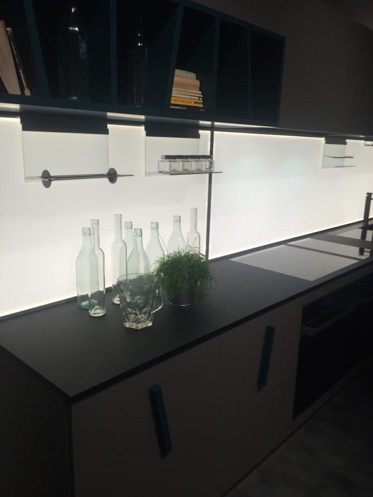 Tilted cabinet handles