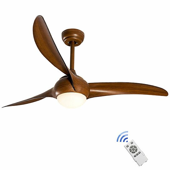 Remote controlled ceiling fans